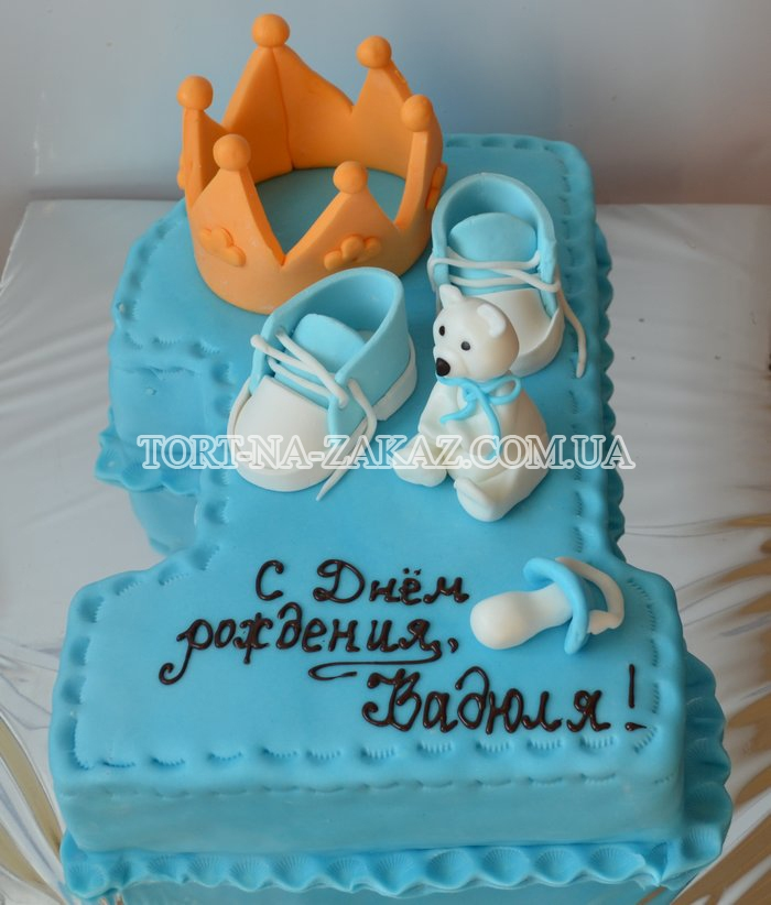 Фото тортов из мастики на день рождения мальчику 1 год фото