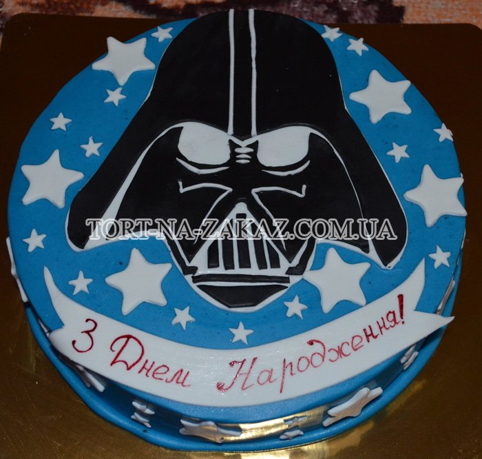 Торт дарт вейдер мастер класс