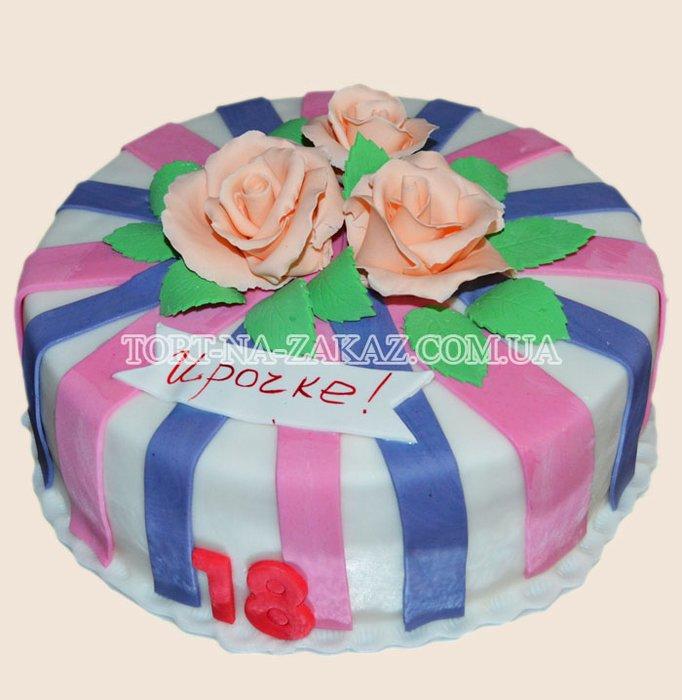 Торт с ананасом бисквитный фото 4
