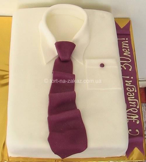 Оригинальный торт для мужчин - №15