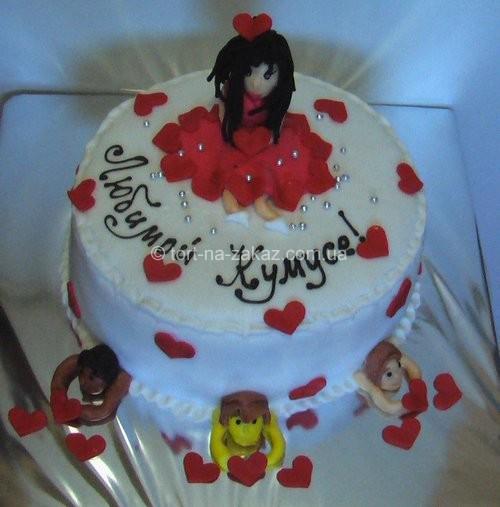 Оригинальный торт на день рождения - №11