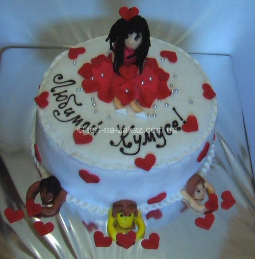 Оригінальний торт на день народження - №11