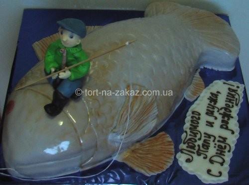Креативный торт для мужчин - №8