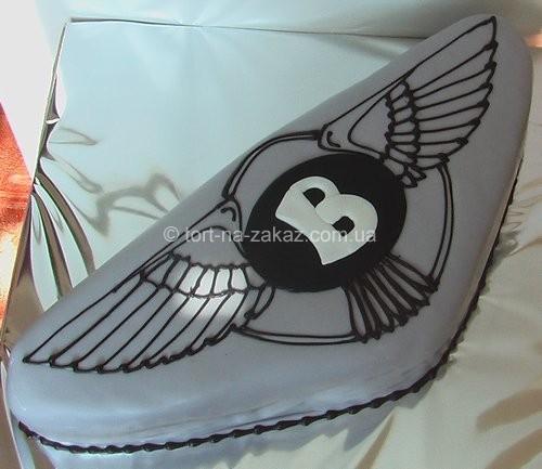 Торт у формі логотипу - №6