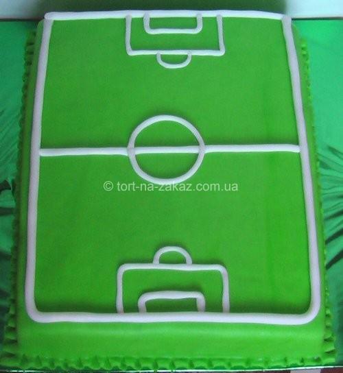 Футбольный торт - №2