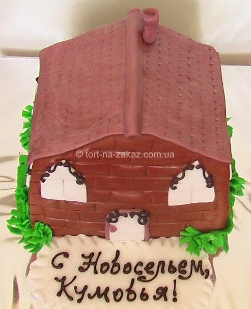 """Цікавий торт """"Будинок"""" - №1"""
