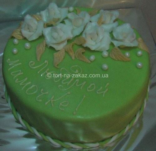 Торт на день народження матері - №58