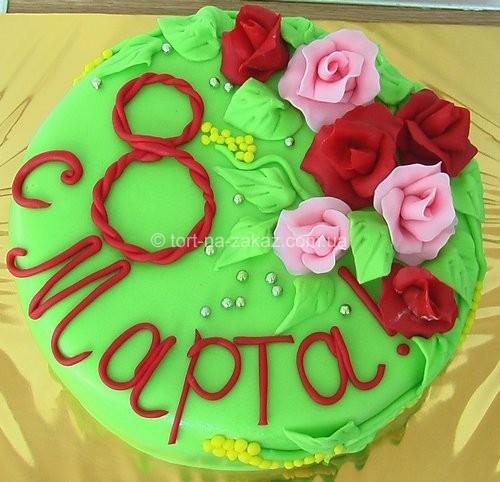 Вкусный праздничный торт - №55