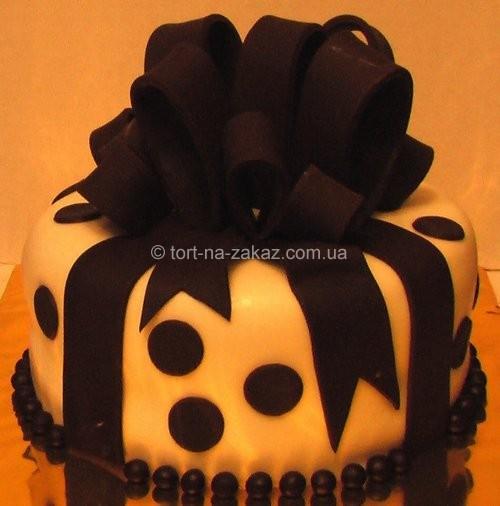 Шоколадный торт на день рождения - №52