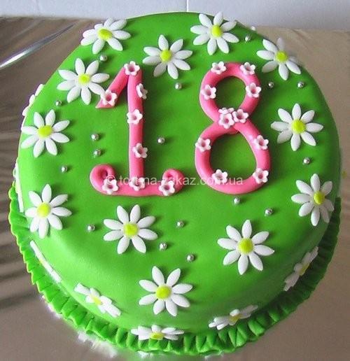 Бисквитный торт праздничный - №49