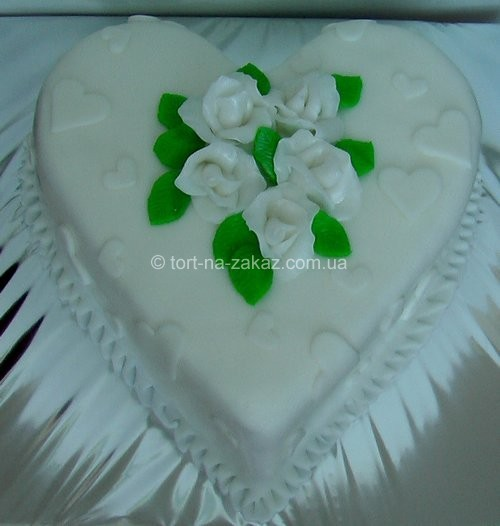 Торт на день влюблённых - №48