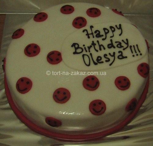 Торт на день рождения подруге - №47