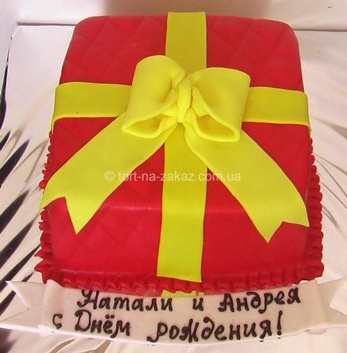 Простой торт на день рождения - №46