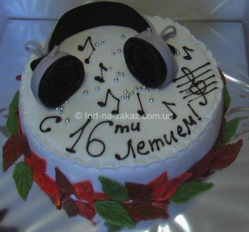 Необычный торт на день рождения - №43