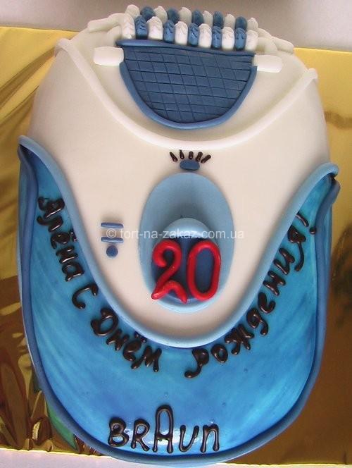 Торт на день рождения девушки - №37