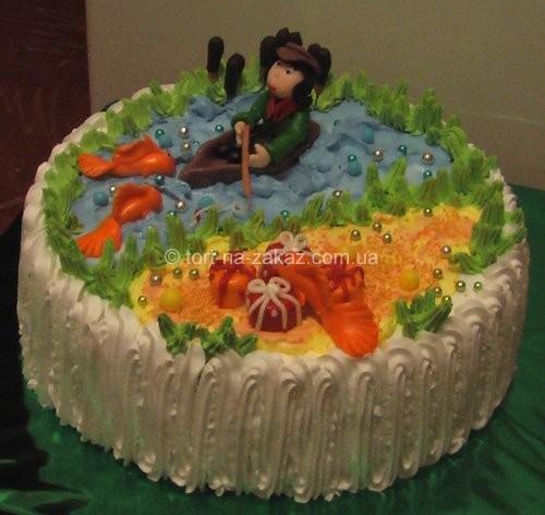 Торт чоловіку на день народження - №28