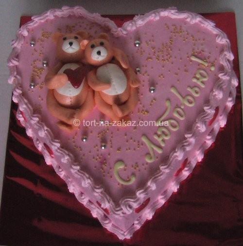 Прикольний торт на річницю весілля - №24