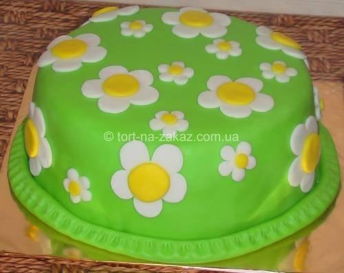 Торт на день рождения девочки - №23