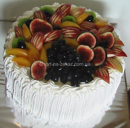 Торт із фруктами - №18