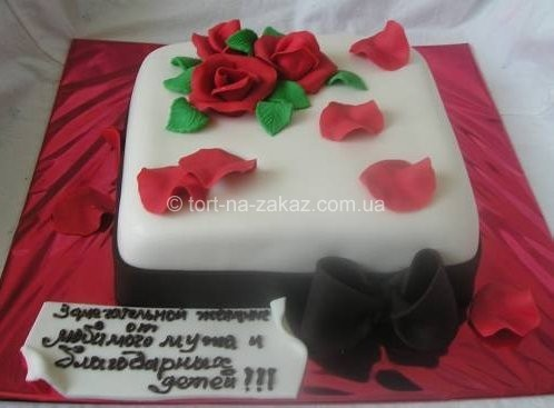 Святковий торт - №7