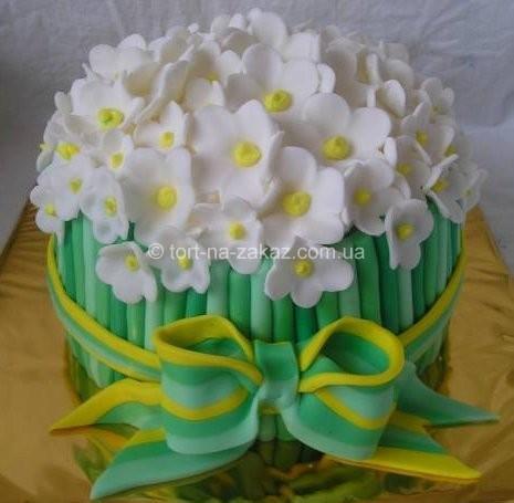 Оригинальный праздничный торт - №5