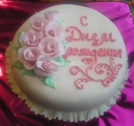 Торт на день рождения - №3