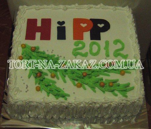 Новогодний торт №3