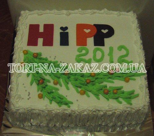 Новорічний торт №3