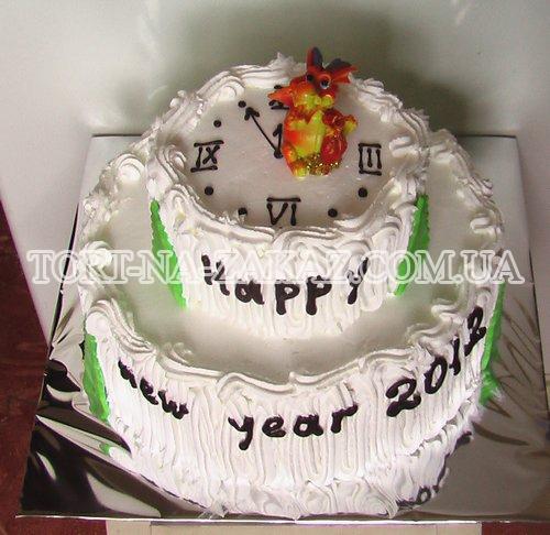 Торт на Новый Год №4