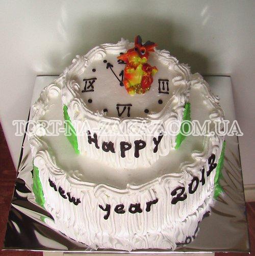 Торт на Новий Рік №4