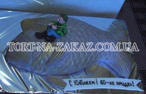 Торт Рыбак №16