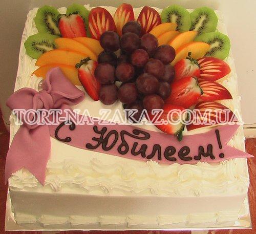 Торт с фруктами №67