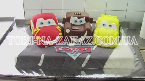 """Торт """"Тачки 2"""" №47"""