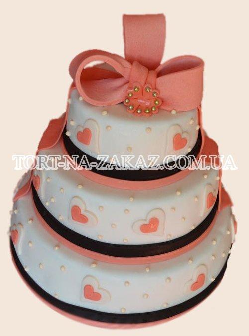 Свадебный торт №65