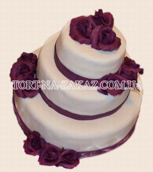 Свадебный торт №69