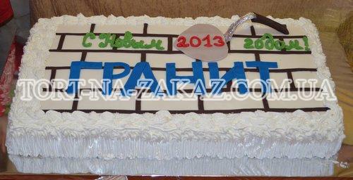 Корпоративный торт №12