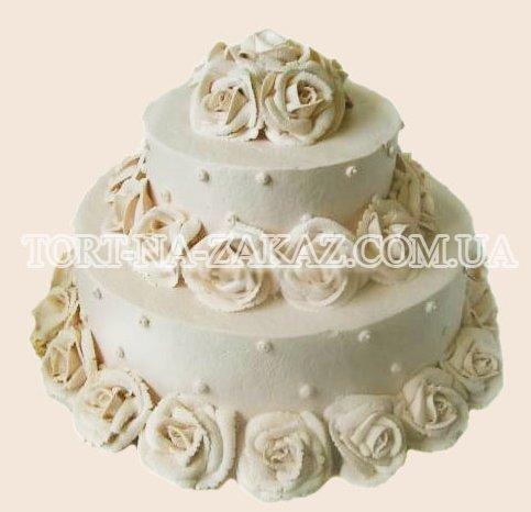 Торт свадебный - №5