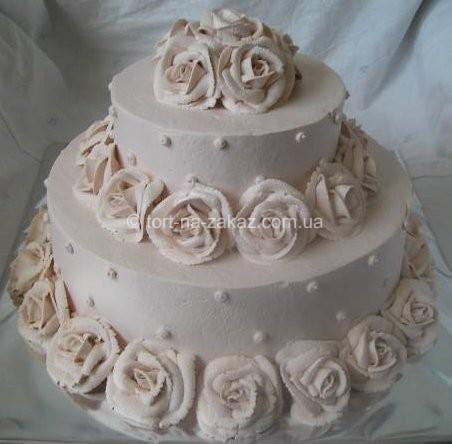 Торт весільний - №5