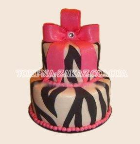 Гламурный свадебный торт - №13