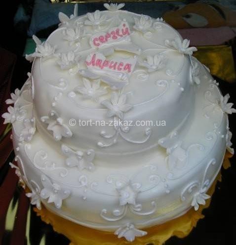 Весільний торт - №14