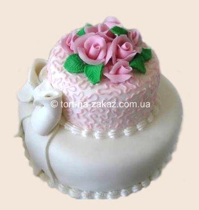 Торт на свадьбу - №19