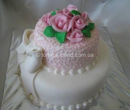Торт на весілля - №19