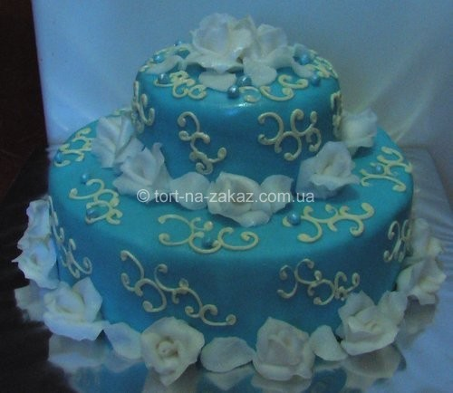 Незвичайний весільний торт - №21