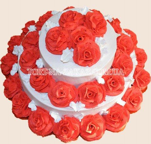 Свадебный торт №108