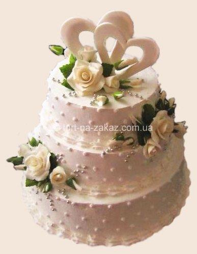 Эксклюзивный свадебный торт - №31