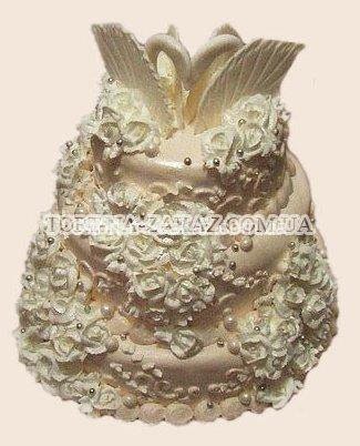 Лучший свадебный торт - №37
