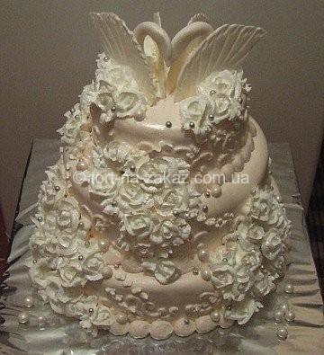 Кращий весільний торт - №37