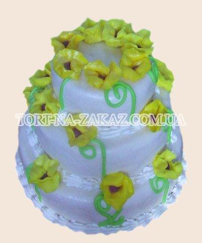 Торт с жёлтыми маками - №43