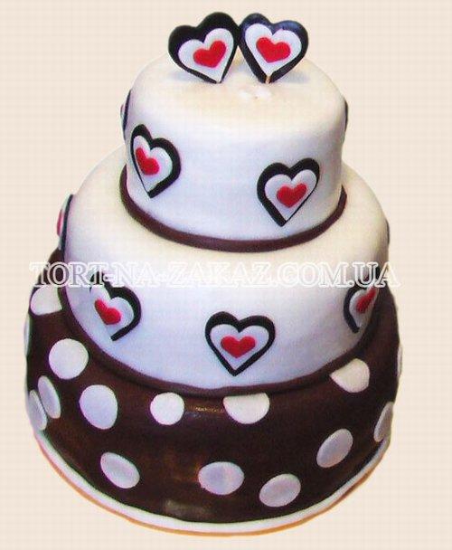 Большой шоколадный торт - №55