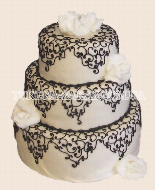 фото узоров на свадебные торты